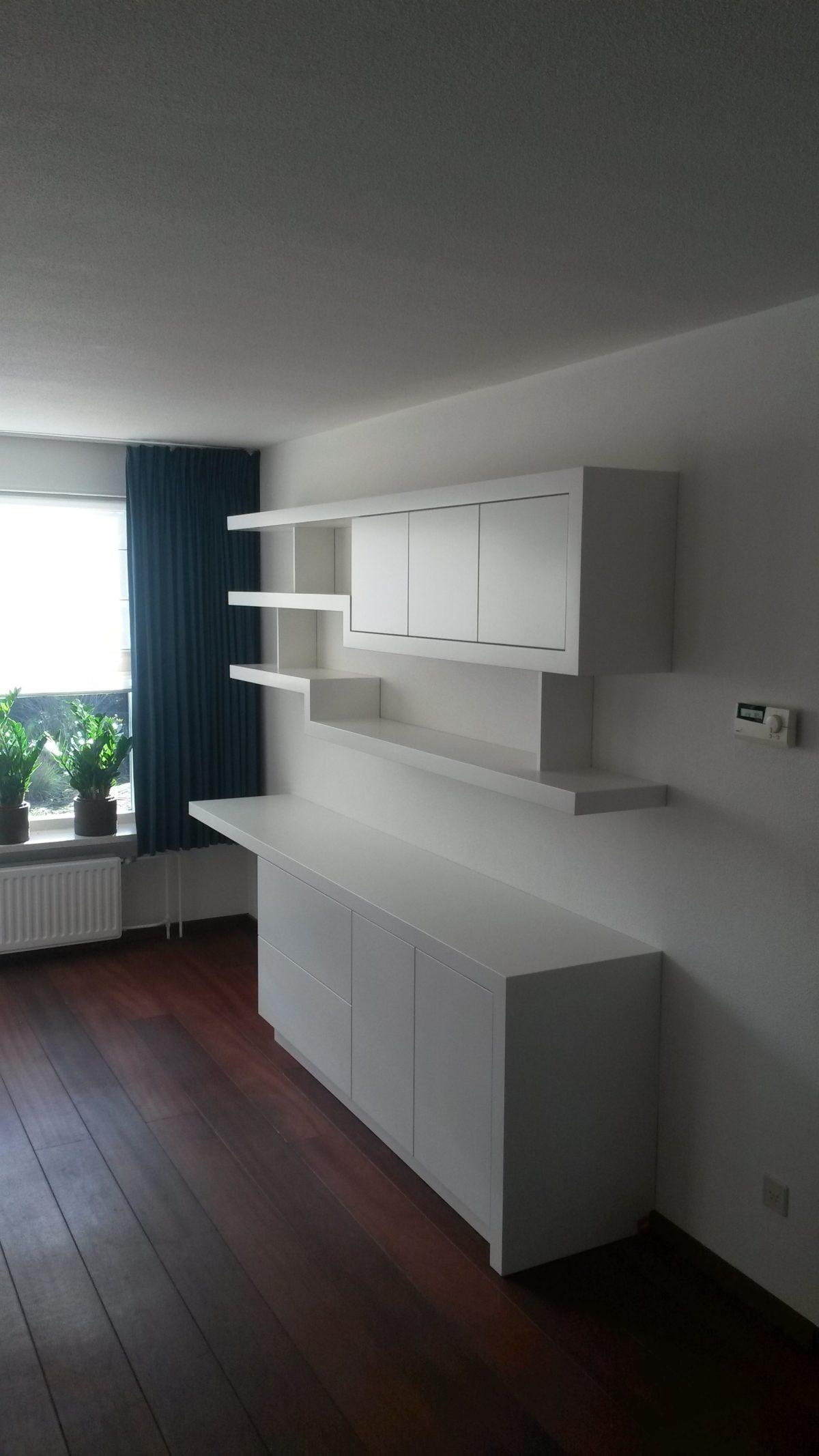 Maatwerk woonkamer met gashaard