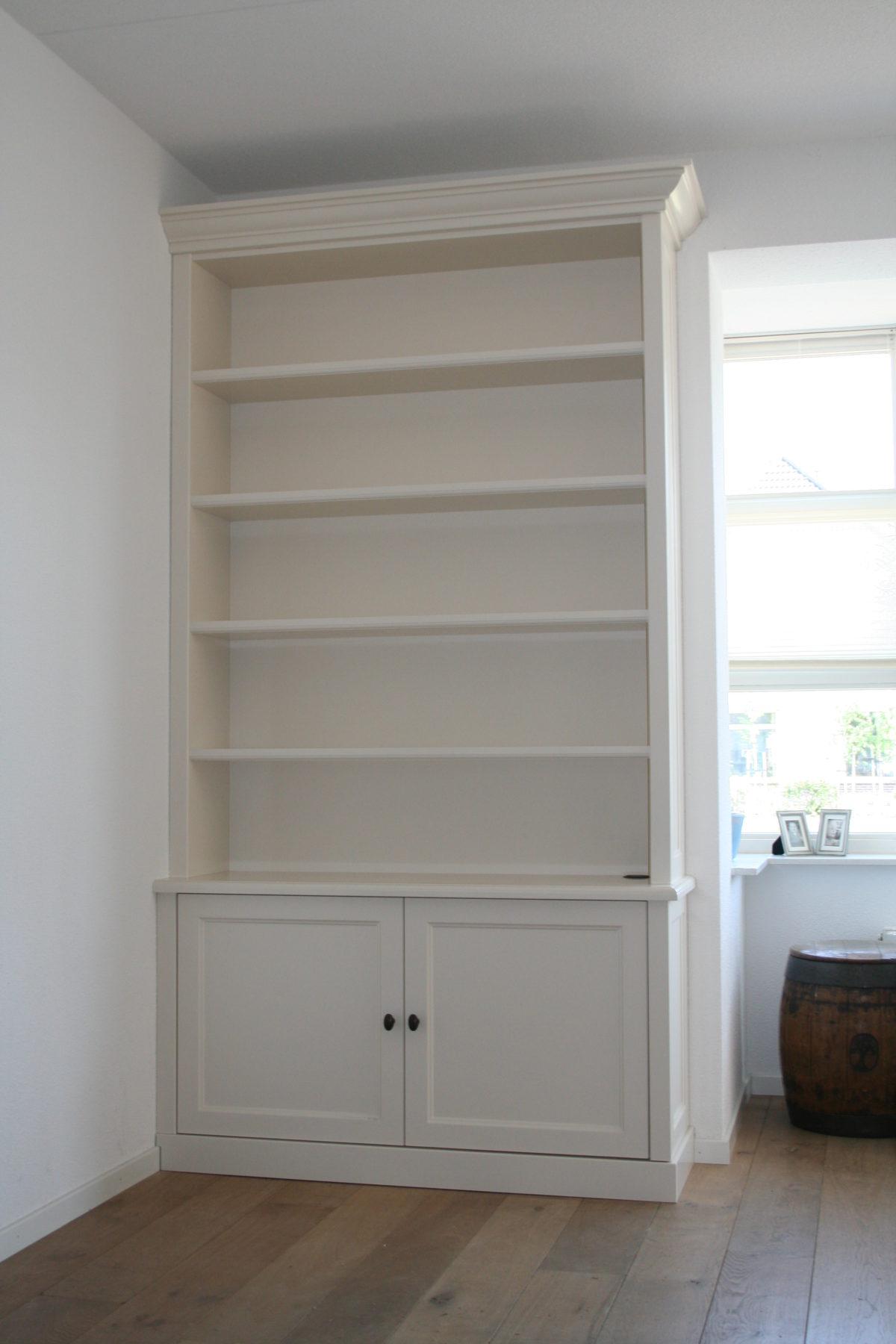 Dubbele boekenkast